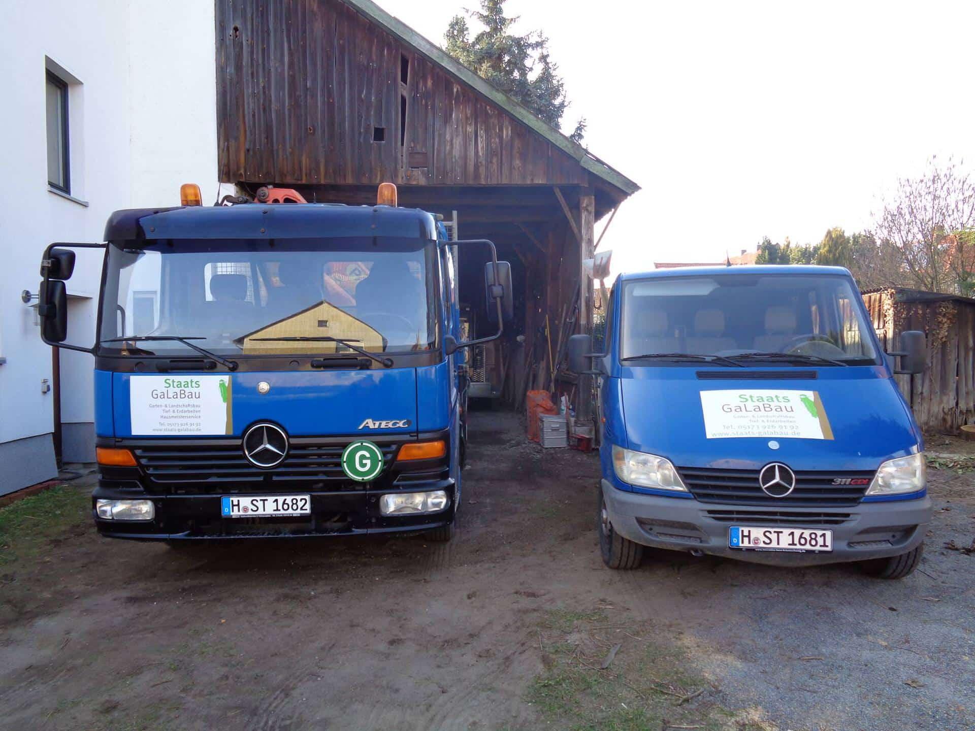 Staats Galabau - Fahrzeuge