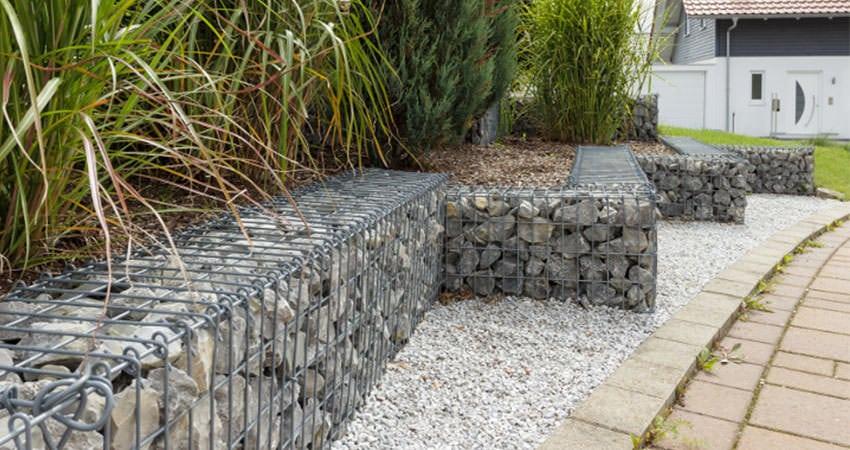 Gabionen Mauer: Begrenzen Sie Ihren Garten mit Stil | Staats GaLaBau