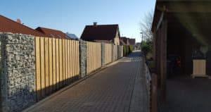 Gabionen bieten hervorragenden Sichtschutz | Staats GaLaBau in Uetze