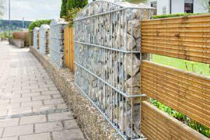 Gabionen verschönen auf einfache Weise das Grundstück