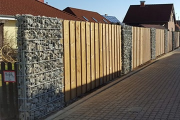 Sichtschutz Gabionen: einfach und effektiv | Staats GaLaBau in Uetze