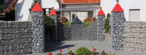 Gabionen für die verschönerung das Geländes | Staats GaLaBau in Uetze