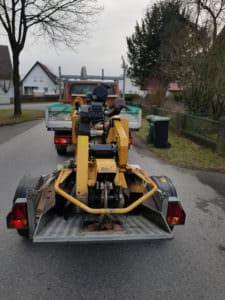 Baumstumpffräse | Staats Gartenbau & Landschaftsbau in Uetze